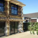 Exterieur de la maison bio à Brunoy (91)