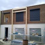 La façade de notre maison écologique en Essonne
